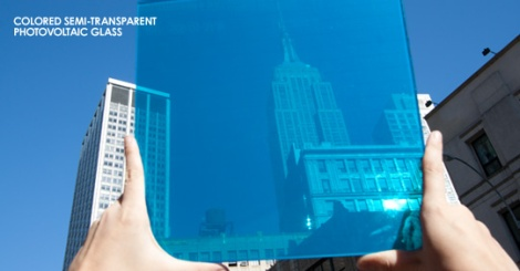 Coloured Photovoltaic Glass by Onyx Solar (Photo courtesy of Onyx Solar)