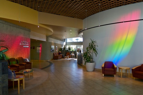HEALING LIGHT, Eisenhower Medical Center, Rancho Mirage, CA., c. Peter Erskine 2003