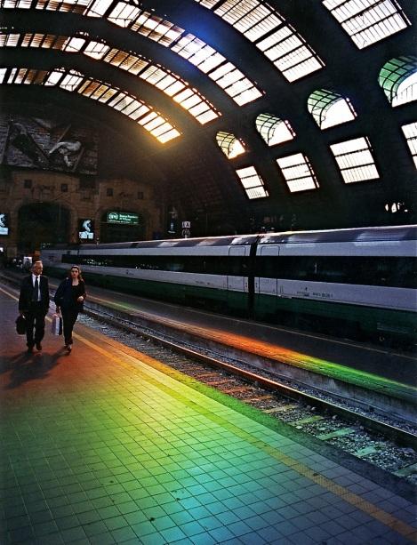 CROMOS, Milan Central Station, Milan,                                                                            c. Peter Erskine 2000